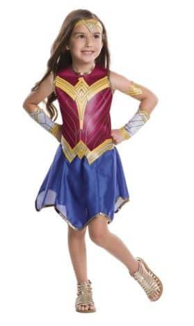 Wonder Woman Halloween costume for kids