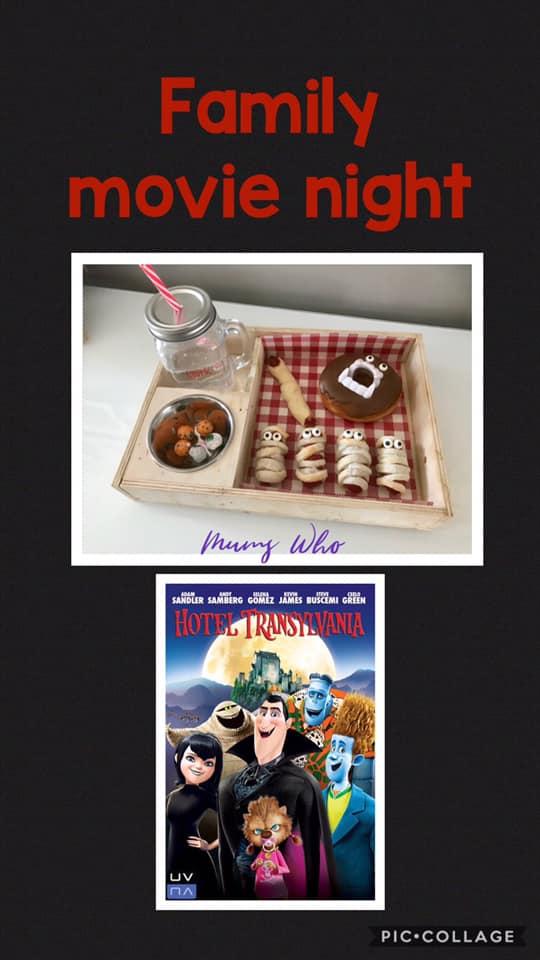 Coronavirus family movie night box