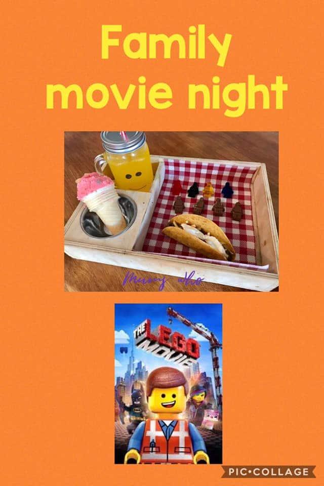Family movie night snack box - Coronavirus